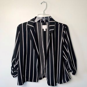 14th & Union Black and White Blazer